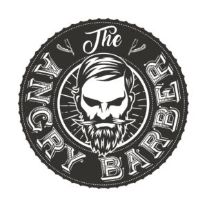 The Angry Barber Logo